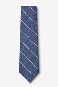 Phoenix Gray Extra Long Tie Photo (1)