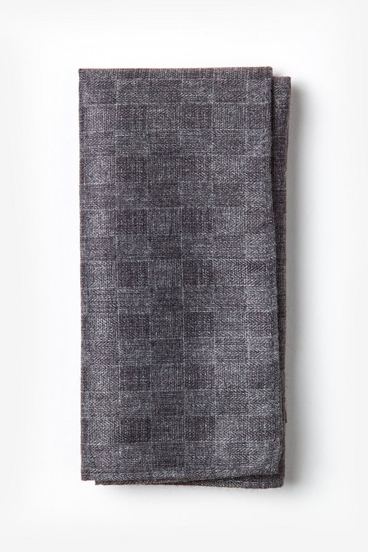Prescott Gray Pocket Square Photo (0)