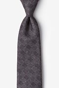 Gray Cotton Prescott Tie