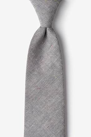 _Teague Gray Extra Long Tie_