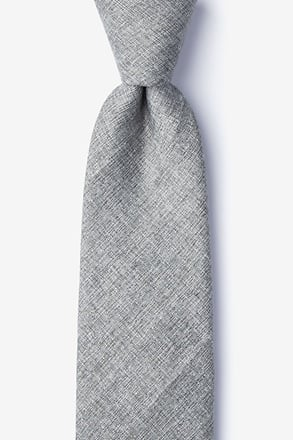 _Trenton Gray Extra Long Tie_