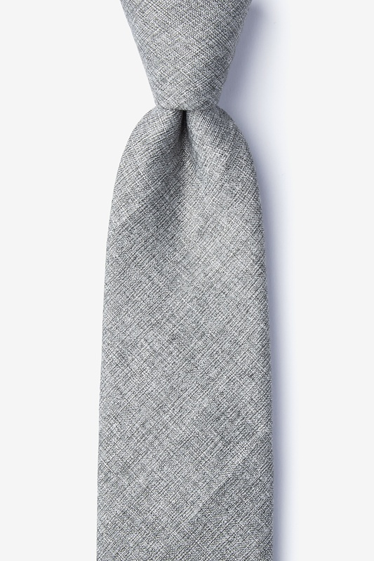 Trenton Gray Extra Long Tie Photo (0)