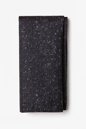 Wilsonville Gray Pocket Square