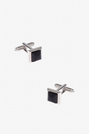 Mini Rounded Peak Cufflinks