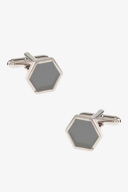 Simple Octagon Cufflinks Photo (0)