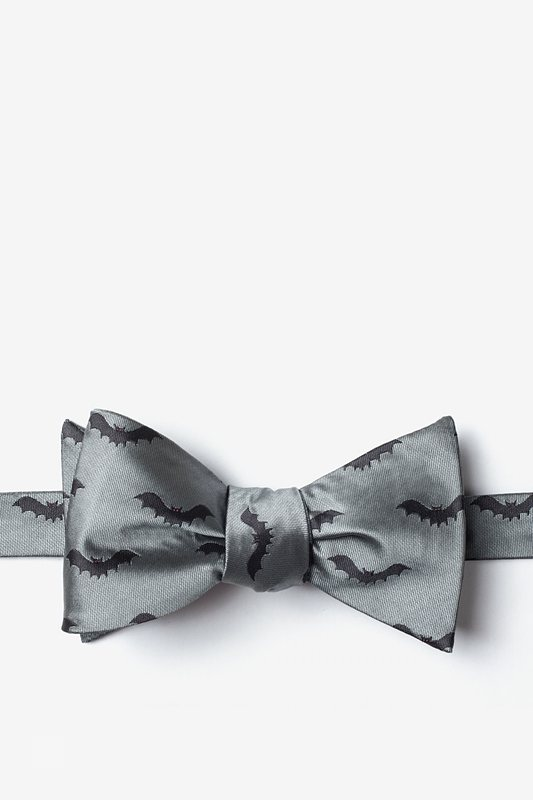 Bats Self-Tie Bow Tie Photo (0)