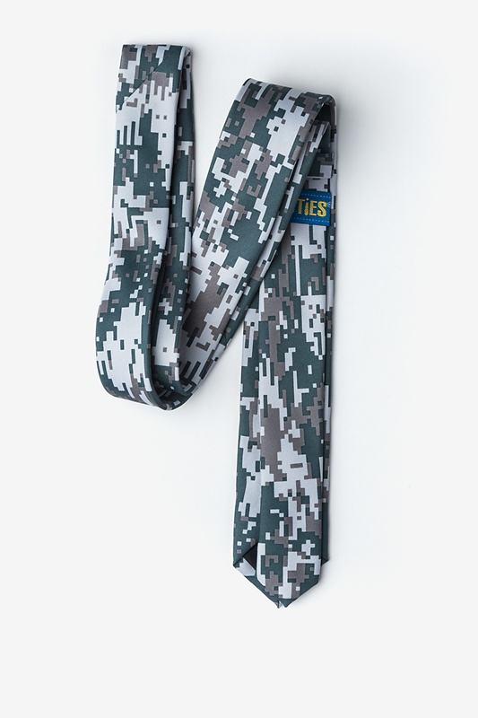 Digital Camo Skinny Tie Photo (1)