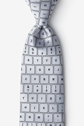 QWERTY Keyboard 2.0 Extra Long Tie