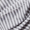 Gray Polyester Mens Candy Stripe Scarf