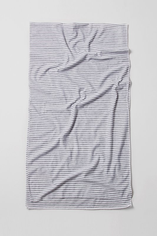Mens Candy Stripe Gray Scarf Photo (1)