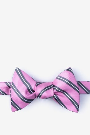 _Barrow Gray Self-Tie Bow Tie_