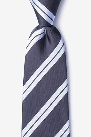 _Blackwater Gray Tie_