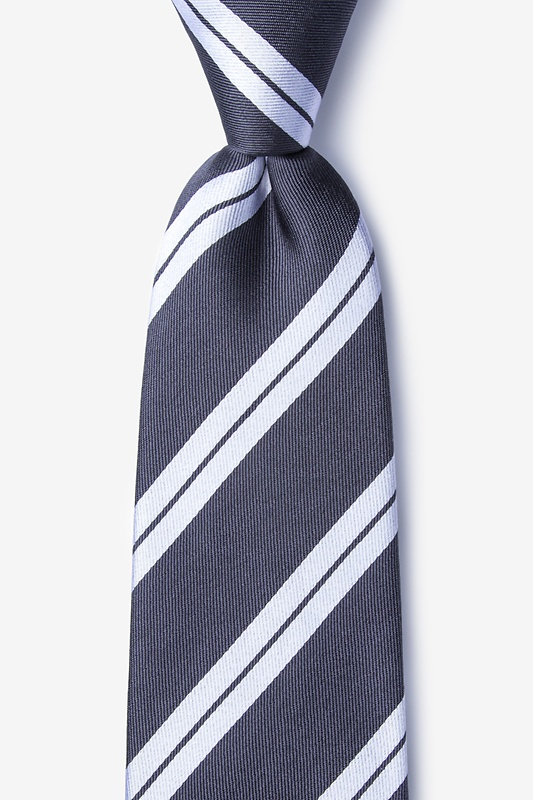 Blackwater Gray Tie