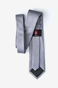 Borden Gray Extra Long Tie Photo (1)