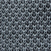 Gray Silk Classic Solid Knit Tie