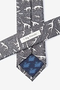 Gray Dig Fossils Skinny Tie Photo (2)