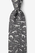 I Dig Fossils Gray Tie Photo (0)