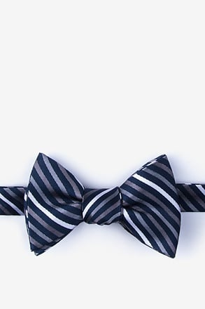 _Lee Gray Self-Tie Bow Tie_