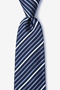 Gray Silk Lee Tie