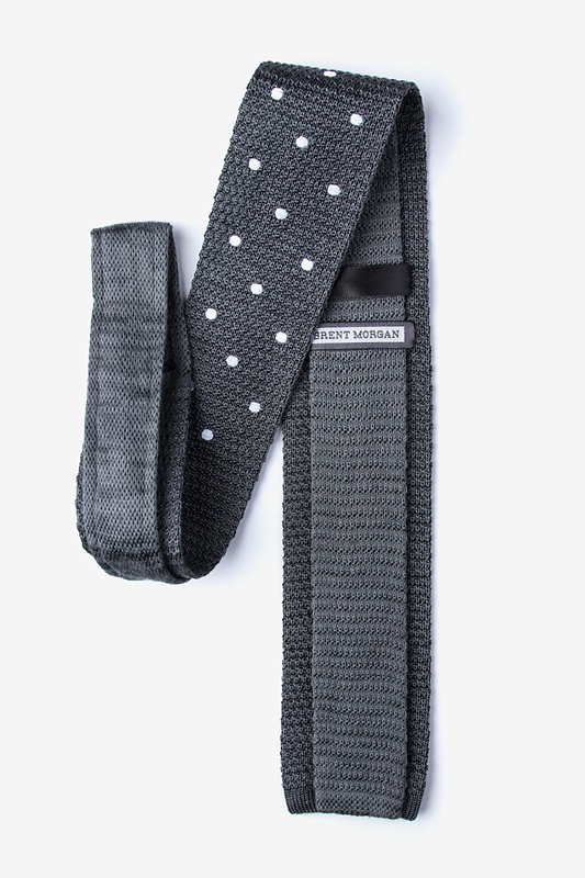 Polka Dot Knit Tie Photo (1)