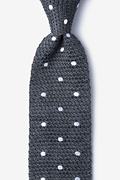 Polka Dot Knit Tie Photo (0)