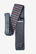 Swiss Stripe Knit Tie Photo (1)