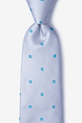 Gray Silk Wooley Extra Long Tie