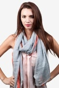 Audrey Gray Scarf by Scarves.com