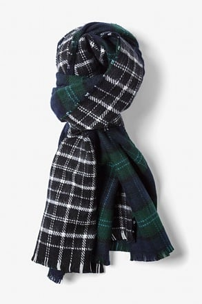 Newcastle Tartan Blanket Knit Scarf