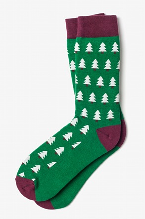 Christmas Trees Sock