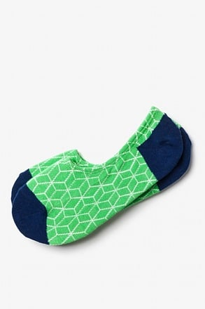 Fontana Green No-Show Sock