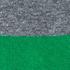 Green Carded Cotton Rugby Stripe