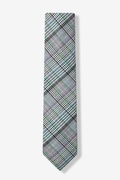 Bradford Plaid Skinny Tie Photo (1)