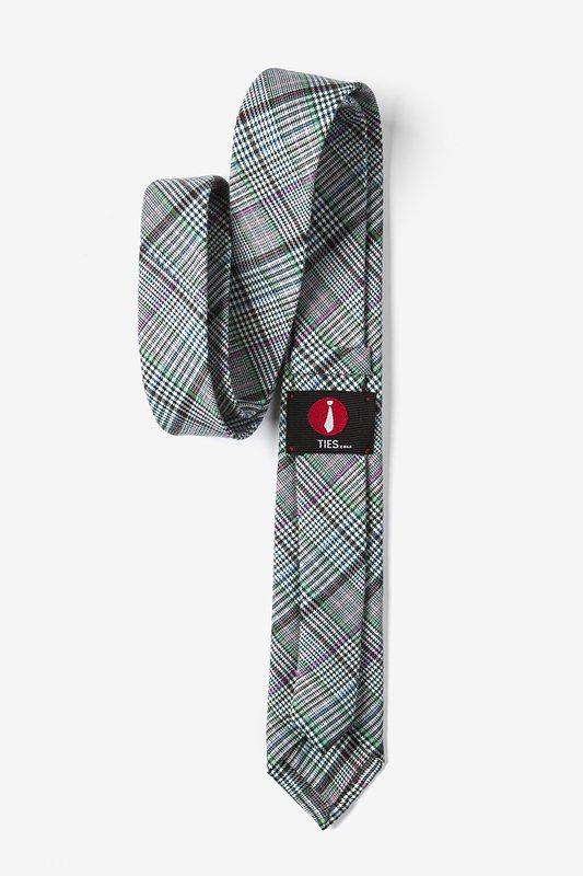 Bradford Plaid Skinny Tie Photo (2)
