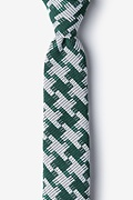 Green Cotton Buckeye Thick Skinny Tie