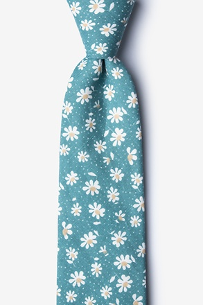Canton Green Extra Long Tie