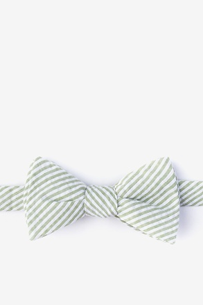 _Clyde Green Self-Tie Bow Tie_