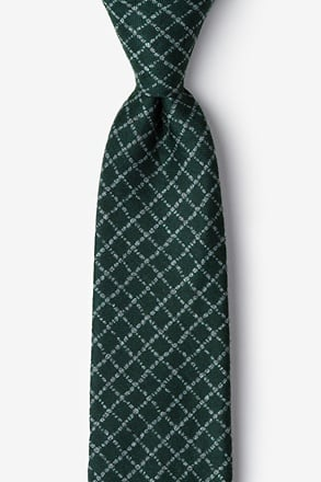 _Glendale Green Extra Long Tie_
