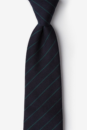 _Glenn Heights Green Extra Long Tie_