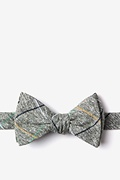 Green Cotton Globe Bow Tie