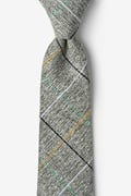 Green Cotton Globe Extra Long Tie