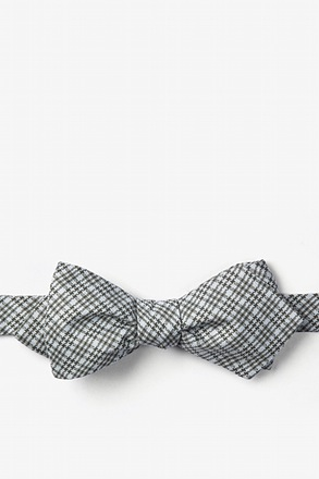Green Animator Diamond Tip Bow Tie