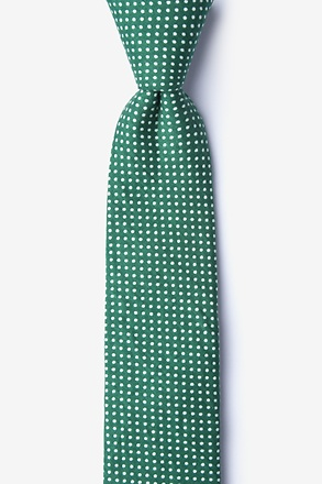 Gregory Green Skinny Tie
