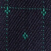 Green Cotton Gresham Pocket Square