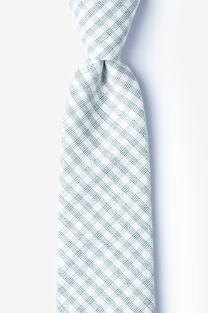 _Huron Green Extra Long Tie_