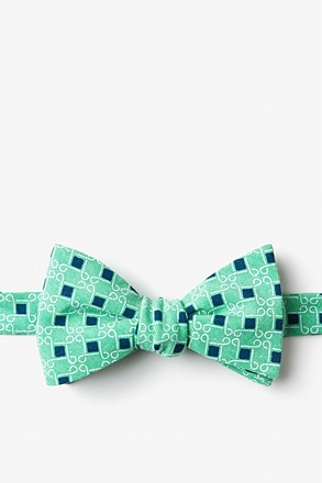 Jamaica Green Self-Tie Bow Tie