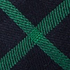 Green Cotton Joaquin Extra Long Tie