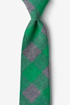 Kent Green Extra Long Tie