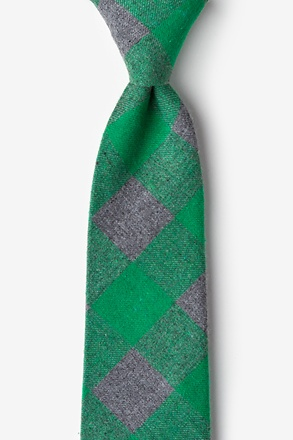 _Kent Green Extra Long Tie_
