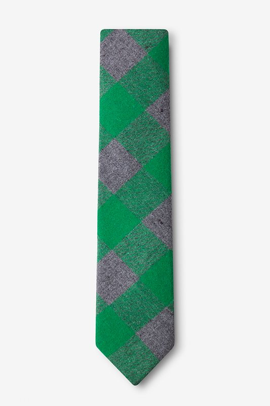 Kent Green Skinny Tie Photo (1)